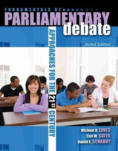 9780757571213: Fundamentals of Parliamentary Debate: Approaches for the 21st Century