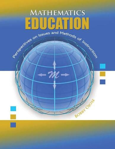 9780757572975: Mathematics Education: Perspectives on Issues and Methods of Instruction