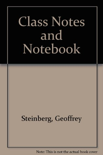 9780757574290: Class Notes and Notebook