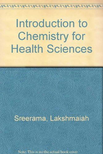 9780757576249: Introduction to Chemistry for Health Sciences