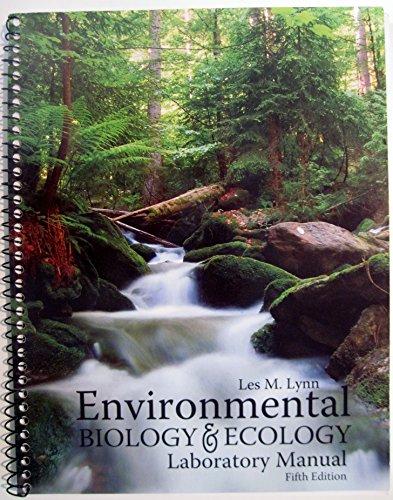 9780757577284 environmental biology and ecology laboratory manual rh abebooks com ecology laboratory manual pdf ecology laboratory manual