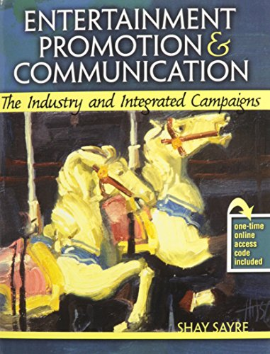 9780757578373: Entertainment Promotion and Communication: The Industry and Integrated Campaigns