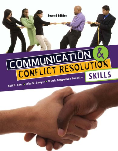 Communication and Conflict Resolution Skills: H, KATZ NEIL;