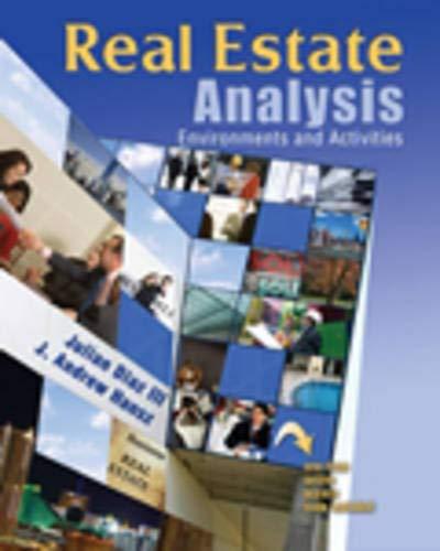 Real Estate Analysis: Environments and Activities: DIAZ JULIAN; HANSZ
