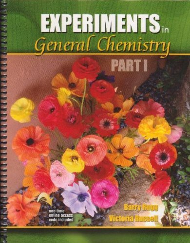 Experiments in General Chemistry Part I: RUSSELL VICTORIA, RUGG