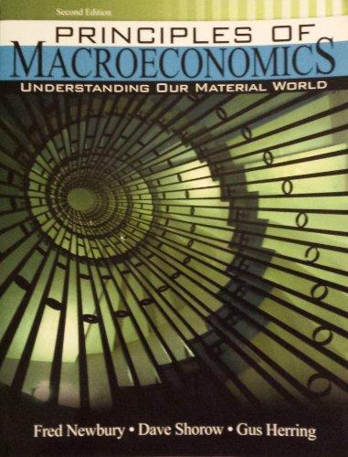 9780757580499: Principles of Macroeconomics: Understanding Our Material World