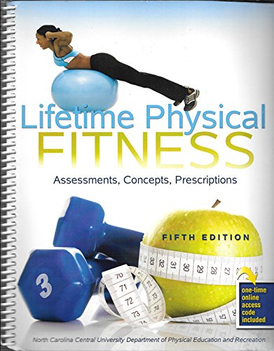 9780757582585: Lifetime Physical Fitness: Assessments, Concepts, Prescriptions