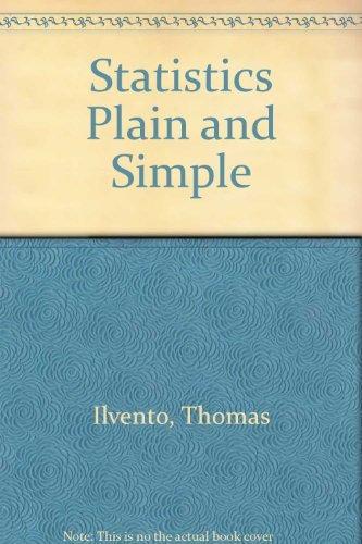 9780757584350: Statistics Plain and Simple