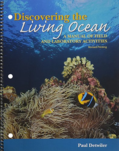Discovering the Living Ocean: A Manual of Field and Laboratory Activities: Paul Detwiler