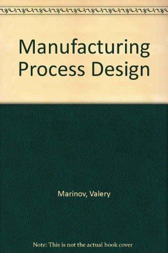 9780757586132: Manufacturing Process Design