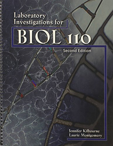 9780757588143: Laboratory Investigations for BIOL 110