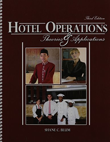 9780757591631: Hotel Operations: Theories and Applications