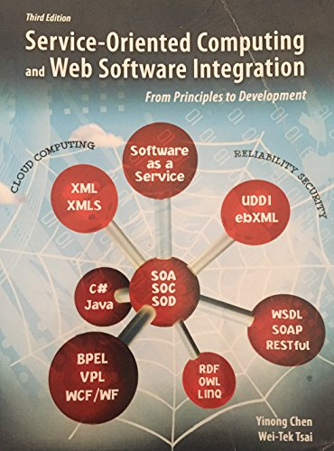 9780757592393: Service-Oriented Computing and Web Software Integration: From Principles to Development