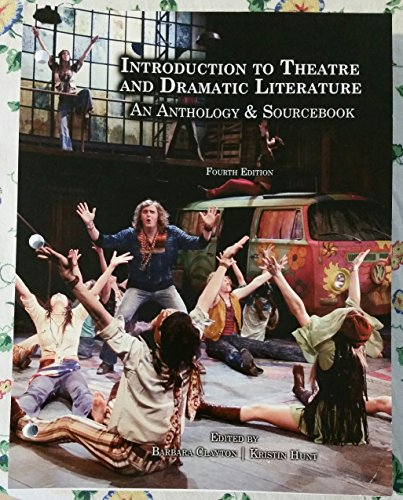 9780757592430: Introduction to Theatre and Dramatic Literature (An Anthology & Sourcebook)