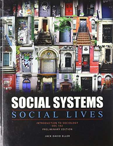 9780757592720: Social Systems, Social Lives: Introduction to Sociology SOC 102