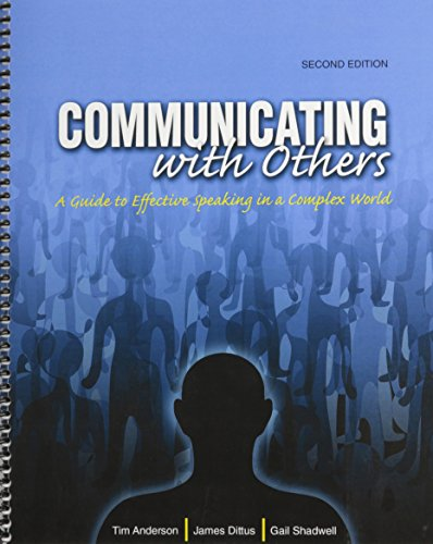 9780757593147: Communicating with Others: A Guide to Effective Speaking in a Complex World