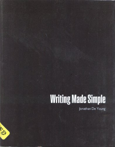 Writing Made Simple - Text: JONATHAN, DEYOUNG