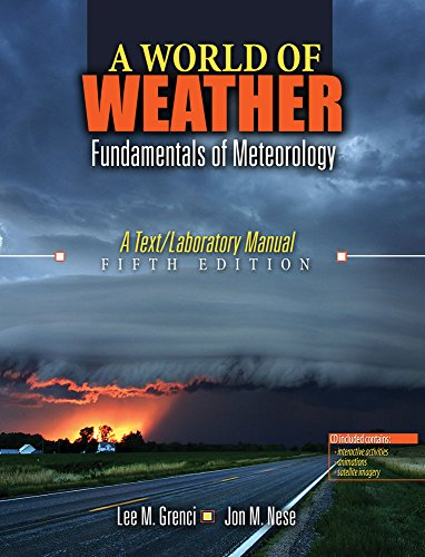 9780757594267: A World of Weather: Fundamentals of Meteorology w/ CD Rom