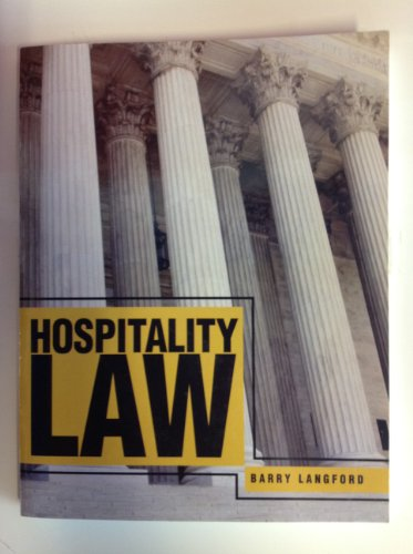 9780757594762: Hospitality Law