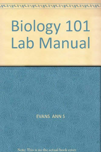 9780757595349: Biology 101 Lab Manual