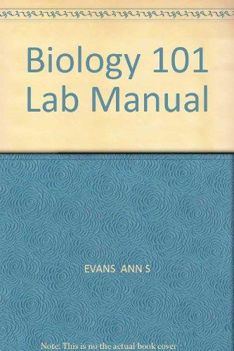 9780757595349: Biology 101 Lab Manual