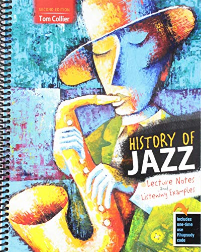 9780757596780: History of Jazz: Lecture Notes and Listening Examples