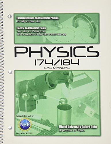 Physics 174/184 Lab Manual: MIAMI UNIVERSITY