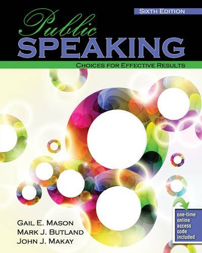 9780757597114: Public Speaking: Choices for Effective Results