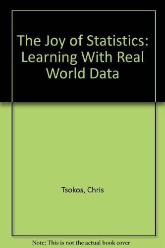 9780757597336: The Joy of Statistics: Learning with Real World Data