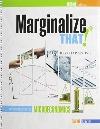 9780757597626: Marginalize That!: An Introduction to Microeconomics