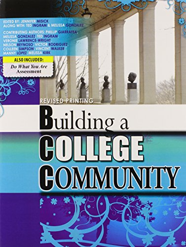 9780757597831: Building a College Community: Developing Strategies for Success