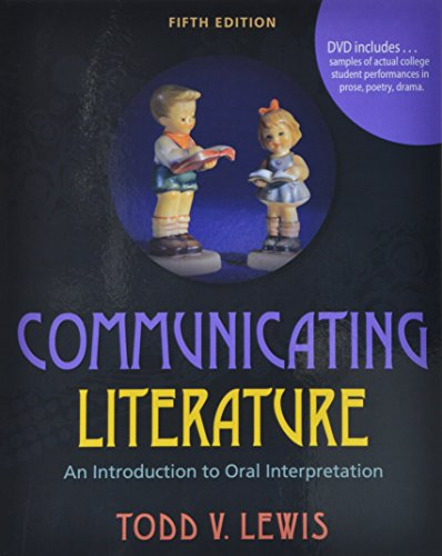 9780757598098: Communicating Literature: An Introduction to Oral Interpretation