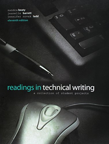 9780757598265: Readings in Techinical Writing: A Collection of Student Projects