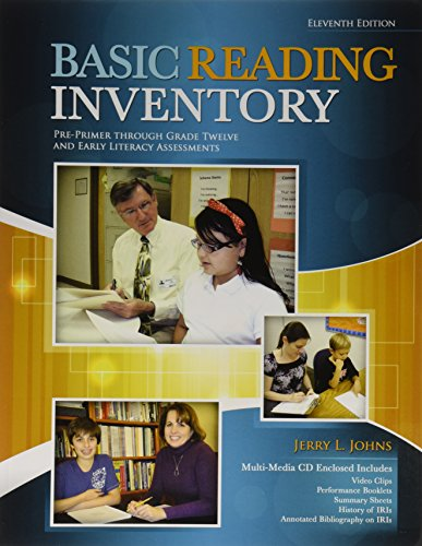 9780757598371: [(Basic Reading Inventory: Pre-Primer Through Grade Twelve and Early Literacy Assessments)] [Author: Jerry Johns] published on (September, 2012)