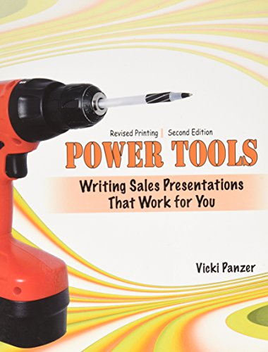 9780757599019: Power Tools: Writing Sales Presentations That Work for You