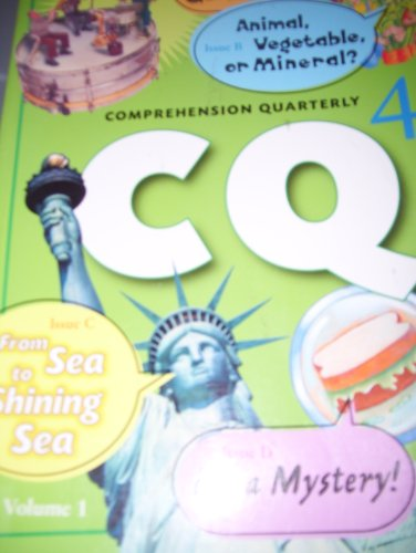 9780757813368: Rigby Literacy: Comprehension Quarterly Grade 4 1