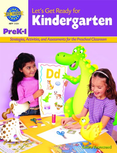 9780757824203: Rigby Best Teacher's Press: Reproducible Let's Get Ready for Kindergarten
