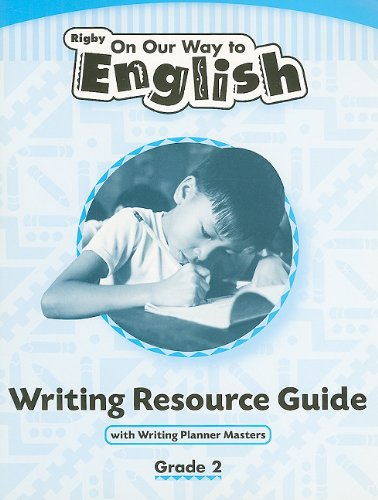 9780757839344: Rigby On Our Way to English: Writing Resource Guide Grade 2