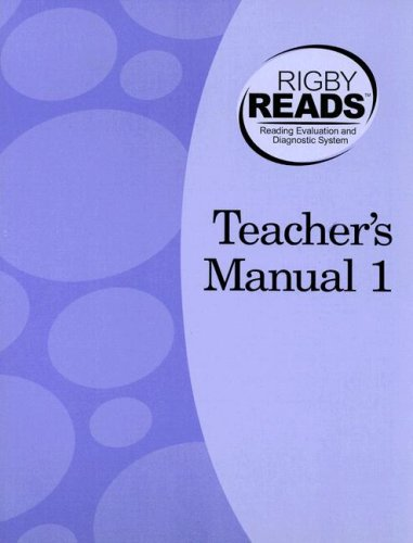 Rigby Reads Teacher's Manual 1 (Rigby Reads): Roger Farr; Michael