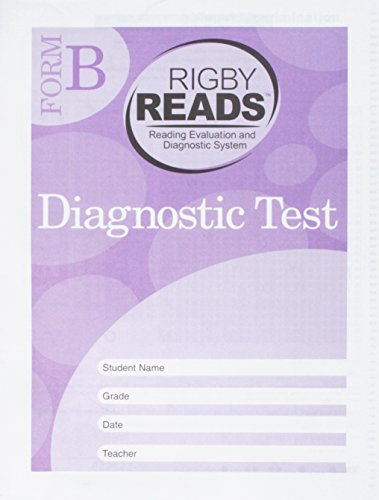 Rigby READS: Diagnostic Test Grade 1 Form B: RIGBY