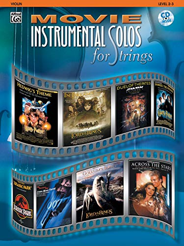 9780757900327: Movie Instrumental Solos for Strings: Violin