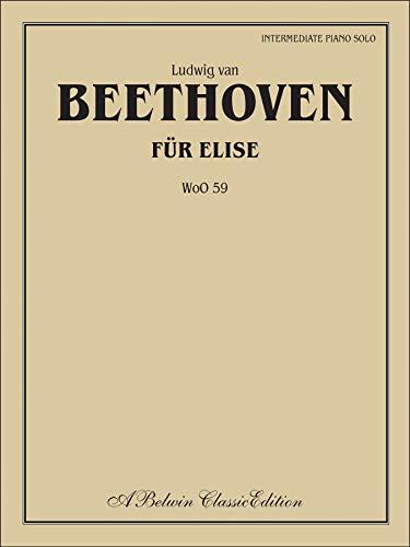Für Elise (WoO 59): Intermediate Piano Solo,