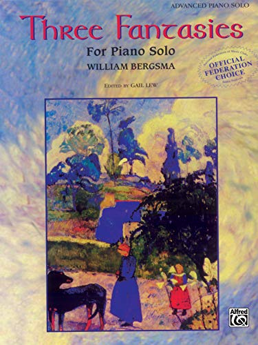 Three Fantasies - Piano Solo: Bergsma