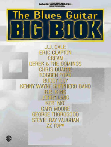 9780757900655: The Blues Guitar Big Book: Authentic Guitar TAB (Guitar Big Book Series)