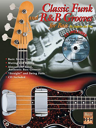 9780757901041: Classic Funk and R&B Grooves for Bass: Book & CD (Bass Masters Series)