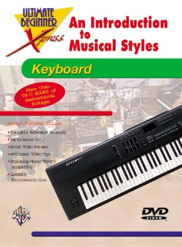 9780757901188: Ultimate Beginner Xpress An Introduction to Musical Styles for Keyboard (DVD) [Reino Unido]
