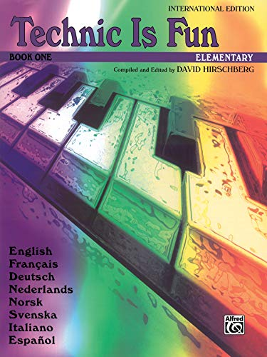 9780757901850: Technic Is Fun, Bk 1: International Edition -- Text in 8 languages (Hirschberg Fun Series)