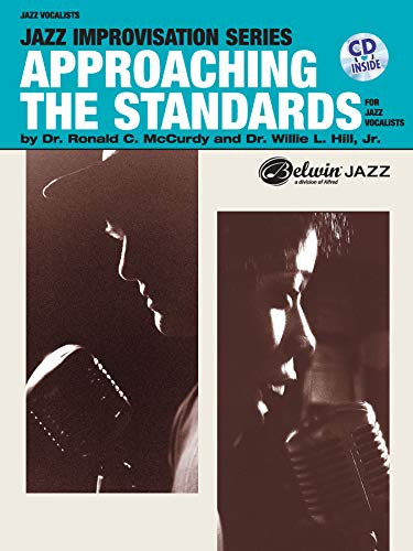 9780757901966: Approaching the Standards for Jazz Vocalists: Book & CD (Jazz Improvisation Series)