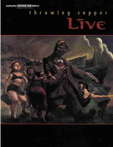 9780757903007: Live -- Throwing Copper: Authentic Guitar TAB