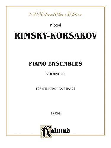 9780757903304: Piano Duets, Vol 3 (Kalmus Edition)